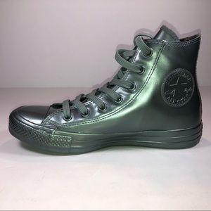 23850584501883 Converse Shoes - Converse CTAs Rubber HI Metallic Glaciers Sneakers